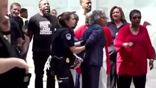 Capitol Police Arrested Nine People including Dem Congresswoman