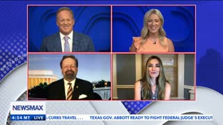 He's not leaving unless it's in a pine box or handcuffs. Seb Gorka on Newsmax
