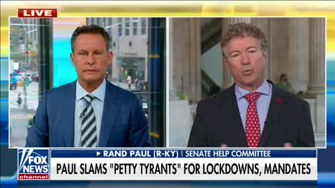 """""""What's More Authoritarianism Than a No Fly List for People Who Disagree With You?"""" Dr. Paul on Fox"""