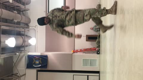 Army strong shoulder spin