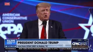 President Trump said we will Make America Great Again