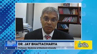 Dr. Jay Bhattacharya, Stanford University, Questions Calculations of Covid Cases
