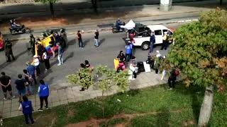 Video: Avanzan manifestación en Bucaramanga y el área por el Paro Nacional