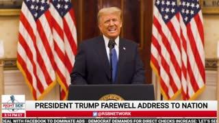 Trump's Big Farewell Speech!