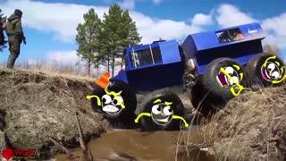 yt1s.com - Doodles Mega Big Foot King of OffRoad Extreme Off Road Truck Mud Race Woa Doodles_1080p