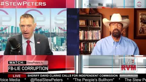 Sheriff David Clarke Calls For Dershowitz Commission to Investigate FBI   StewPeters.tv