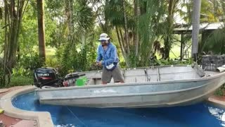 Fishing at Home During Self Isolation