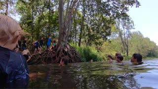 Bunya Riverside Reserve waterhole, Queensland