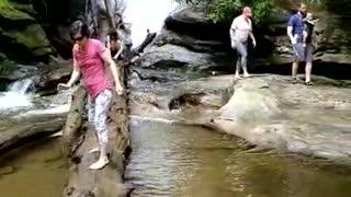 Family Vacation at Glen Falls