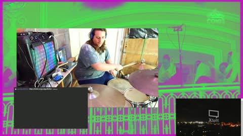 Settled - Studio Drum Performance by Xwan of Good God Father