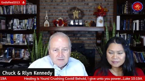 HEALING FORUM: HEALING IS YOURS! #CrushingCovid19 Luke 10:19 -Pastor Chuck Kennedy
