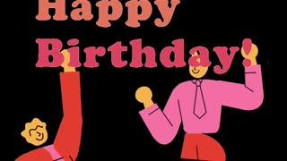Happy Birthday sound.