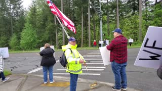 2021-04-30 Protest at Issaquah Middle School / High School