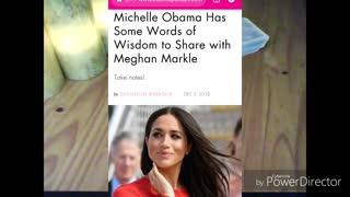 Meghan Markle + Michelle Obama