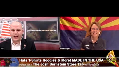 Az.State Senator Wendy Rogers Interview with Josh Bernstein