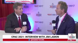 LIVE: EXCLUSIVE Interview With Jim Lamon At CPAC 2021 In Dallas, TEXAS! 7/9/2021