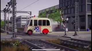Biden Bus - Trump Train