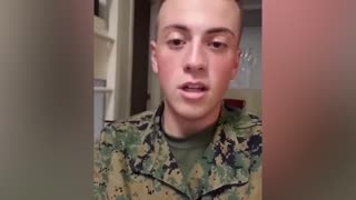 """Marine who threatened to shoot """"ch**ks"""" for 'starting COVID' is under investigation"""