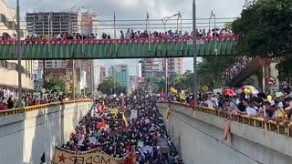 Marcha Paro Nacional 21N Bga