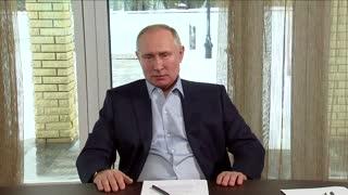 Putin calls protests demanding Navalny's release illegal and dangerous