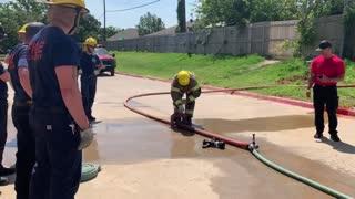 Fire Academy- Hose Day