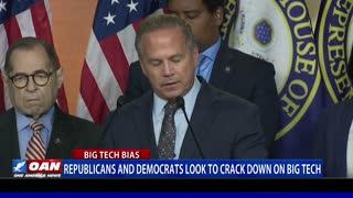 Republicans, Democrats look to crack down on Big Tech