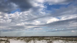 Clouds Over Pensacola Bay - Timelapse