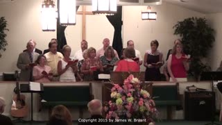 Special Song - Amazing Grace, with James W. Bryant at Piano, 2015