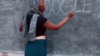 School teacher in Africa