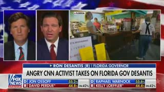 WATCH: Tucker Carlson, Ron DeSantis Take Turns Slamming CNN's Attacks on Florida's COVID Response