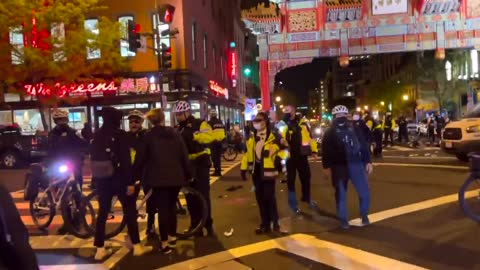 DC Police Give Antifa a Beating as Riots Worsen
