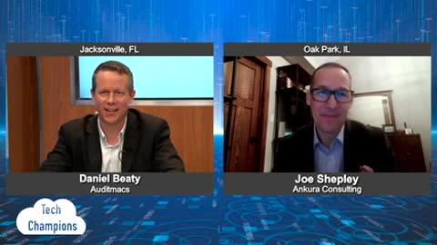 """""""Tech Champions"""" with Joe Shepley from Ankura Consulting"""