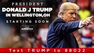 LIVE: President Donald J Trump in Wellington, OH