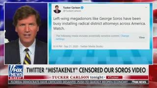 Tucker Carlson calls out Facebook