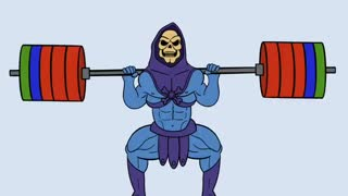 Squats with Skeletor
