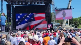 God Bless America MAGA Frank Speech Rally in WI