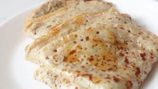 Healthy Oatmeal crêpes  Healthy breakfast ideas