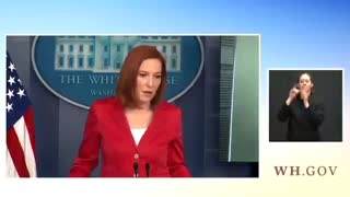 Psaki Refuses to Answer Question on Wuhan Lab
