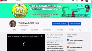 How to YouTube Banner Graphic
