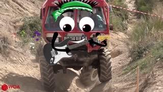 Off Road Truck Mud Race, Extrem off road 8X8 Truck Tatra
