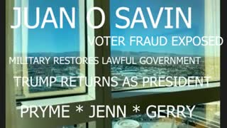 Juan O Savin - 3-1-21 latest update with Pryme, Jennifer and Gerry