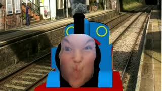 Human Thomas the train