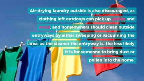 Helpful Cleaning Tips For Allergy Sufferers