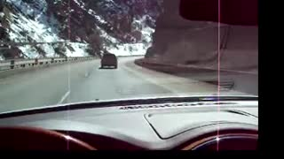 Driving in Glenwood Canyon part 2