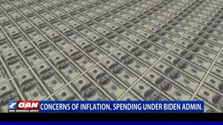 Concerns of inflation, spending under Biden admin.
