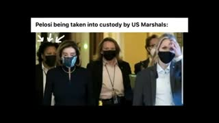 """Pelosi being taken into custody by US Marshals: """"Don't say nothing. I won't"""""""