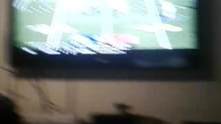 First video football