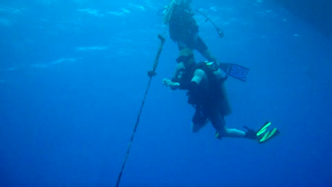 Deep Drop to the Sea Tiger Wreck