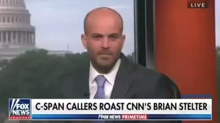 OMG Brian Stelter gets roasted by callers on live TV 😂😂😂
