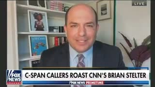 CNN's Brian Stelter Gets WRECKED by CSPAN Callers